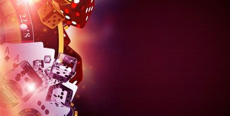Copy Space Casino Banner