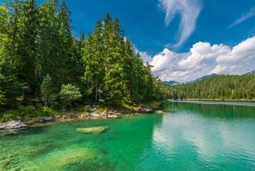 Wall Mural - Eibsee Lake in Bavaria Germany