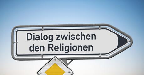 Wegweiser, Dialog zwischen den Religionen