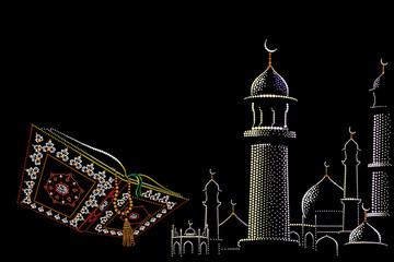 Koran, mosque
