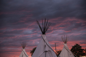 Tepees In The Sky