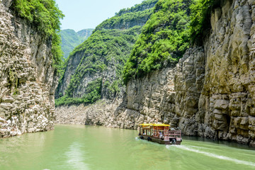 The Three Gorges Yantze River China