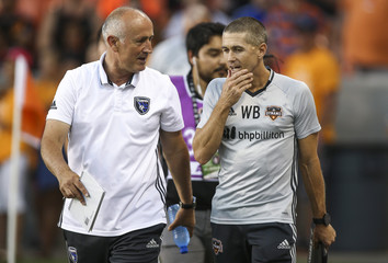 MLS: San Jose Earthquakes at Houston Dynamo