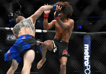 MMA: UFC Fight Night-Caceres vs Knight