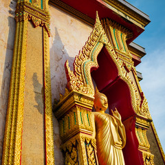 Buddha statue on the island of Phuket, Thailand