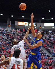 NCAA Basketball: San Jose State at San Diego State