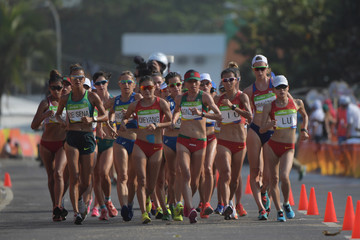 Olympics: Women's 20km Walk