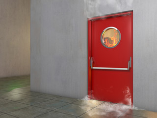 Feuerschutztür, Brandschutztür