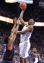NCAA Basketball: Duquesne at Kentucky