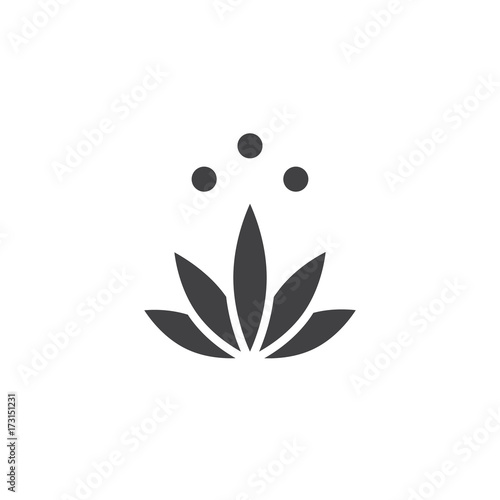 Meditation icon vector filled flat sign solid pictogram isolated meditation icon vector filled flat sign solid pictogram isolated on white lotus flower mightylinksfo