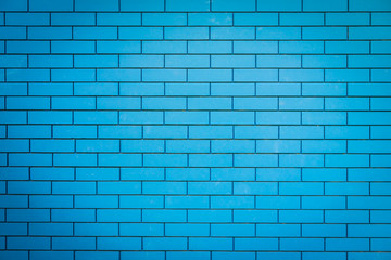 Blue brick stone wall textures
