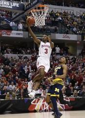 NCAA Basketball: Big Ten Conference Tournament-Indiana vs Michigan