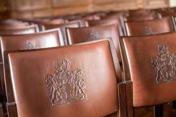 Stühle im Bremer Rathaus