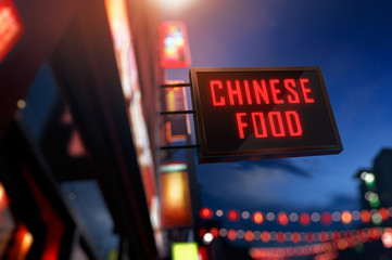 LED Display - Chinese Food Signage