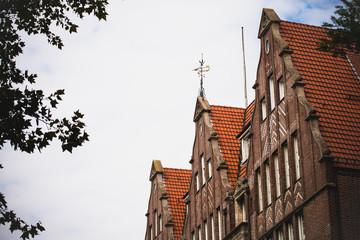 Historische Hausdächer in Bremen