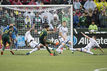 MLS: Playoffs-Vancouver Whitecaps at Portland Timbers