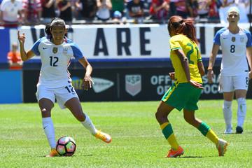 Soccer: International Friendly Women's Soccer-South Africa at USA