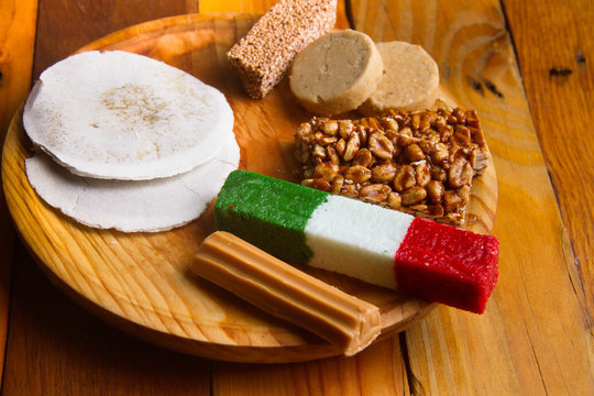 Traditional mexican candies