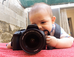 five months old baby photographer