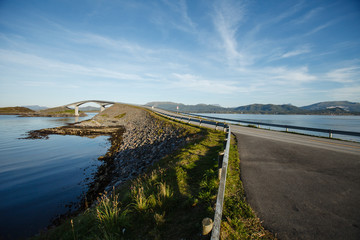 atlantic road bridge in Norway