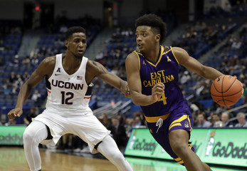 NCAA Basketball: East Carolina at Connecticut