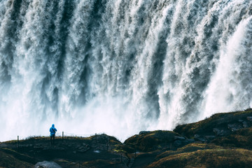 Most powerful waterfall Dettifoss