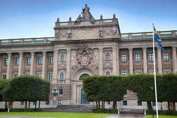Parliament of Sweden, Sveriges riksdag in Stockholm, Sweden