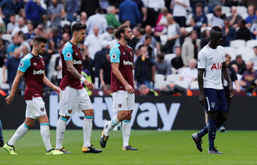 Premier League - West Ham United vs Tottenham Hotspur