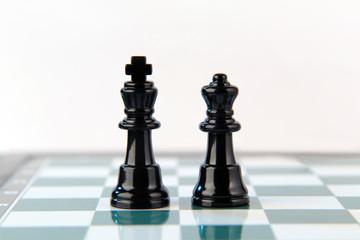 Königspaar im Schach