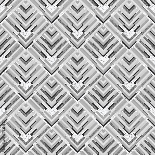 Seamless Background Retro Wallpaper Memphis Design Avant