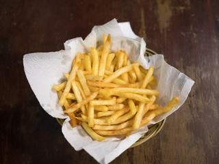 French Fries ready to serve