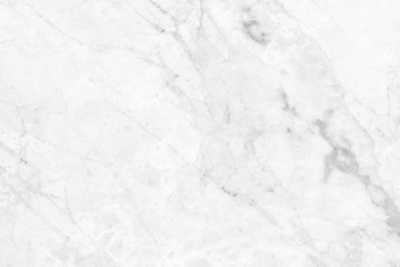 White marble texture background pattern.