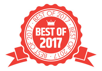 Best of 2017 Badge Fotomurales