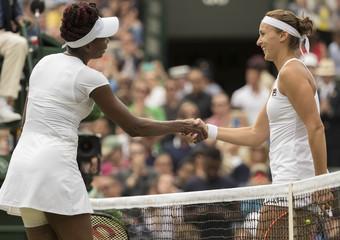 Tennis: Wimbledon - V. Williams vs Shvedova