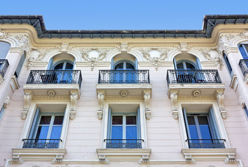 Neoclassical Palace in Nice, France