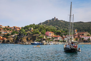 Visiting Collioure in France