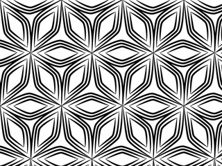 black line graphic pattern abstract vector background. Modern stylish texture.