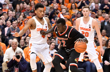NCAA Basketball: Louisville at Syracuse