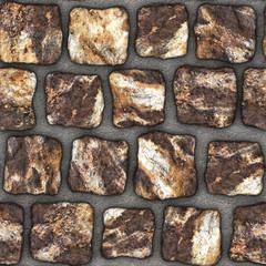 S025 Seamless texture - cobblestone pavers