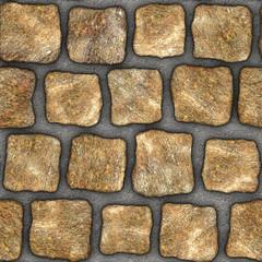 S028 Seamless texture - cobblestone pavers