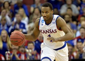 NCAA Basketball: NCAA Tournament-South Regional-Kansas vs Villanova