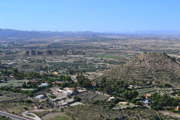 Almeria landscape. Andalucia, Spain.
