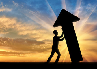The concept of overcoming challenges in business