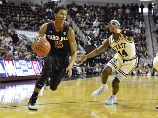 NCAA Basketball: South Carolina at Mississippi State