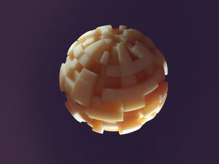 carved sphere