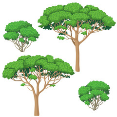 Trees and Bushes  Set