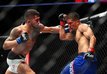 MMA: UFC Fight Night-Moraga vs Pettis