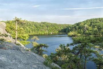 Granite overlook Long Pond