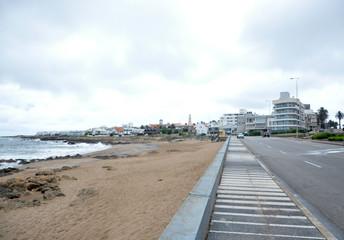 Sidewalk Punta del leste
