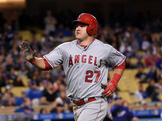 MLB: Los Angeles Angels at Los Angeles Dodgers